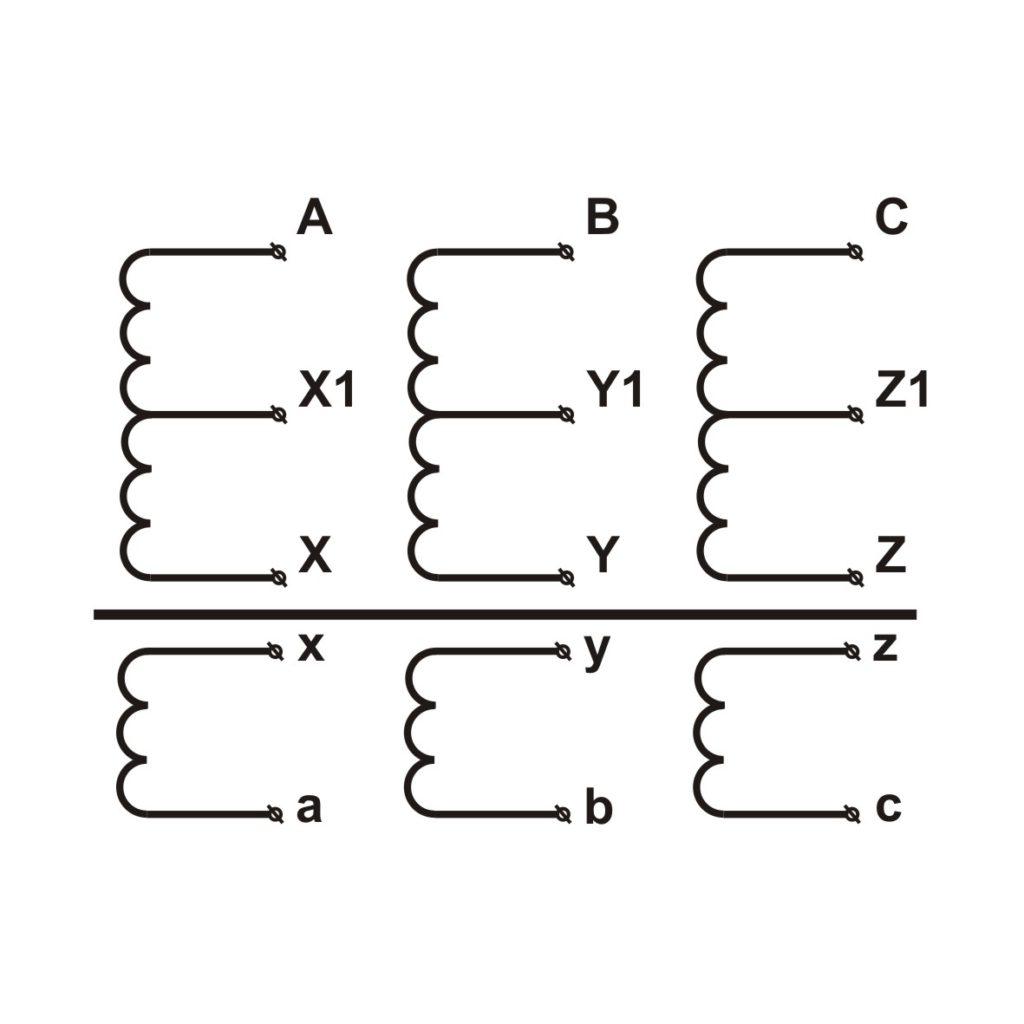 Схема трансформатора ТЭСК